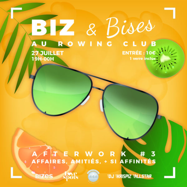 BIZ & Bises au Rowing Club Afterwork 3 #6