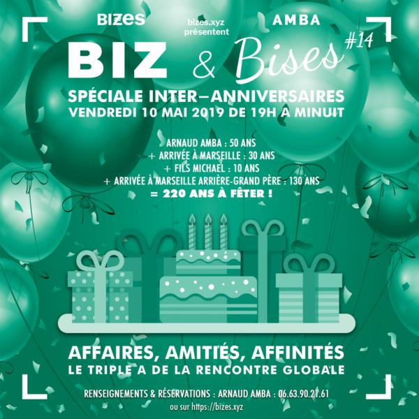 BIZ & Bises Spéciale Inter-Anniversaires #14